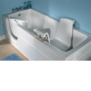 Independent Living Power Bathe Extra Long Walk In Tub