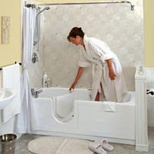 Accessible Walk in Bathtubs the premier tub for Seniors, Step in