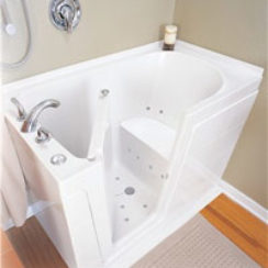Walk-in tub example 1