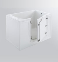 Walk-in tub example 3